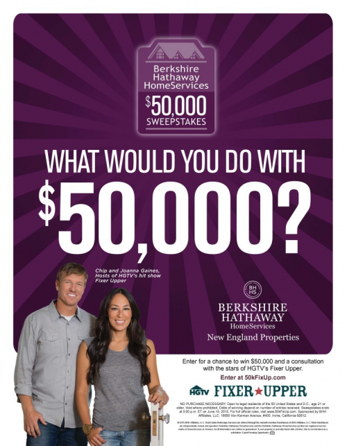 Berkshire Hathaway HomeServices $50,000 Sweepstakes'