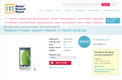 Telecom Power System Market in North America'