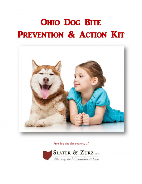 Ohio Dog Bite Prevention and Action Kit'