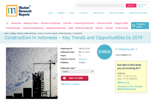 Construction in Indonesia'