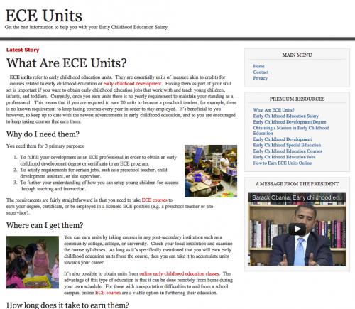 ECE Units'