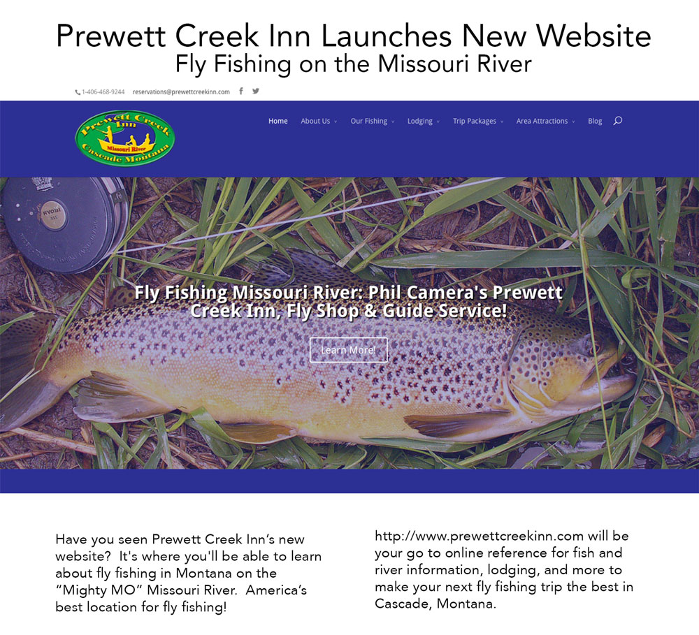 Prewett Creek Inn Website