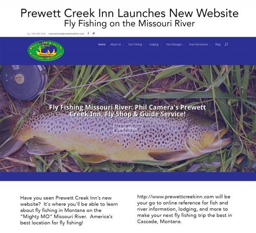 Prewett Creek Inn Website'