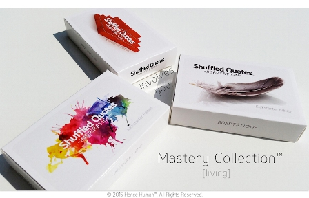 Shuffled Quotes, Providence Collection - Kickstarter Edition'