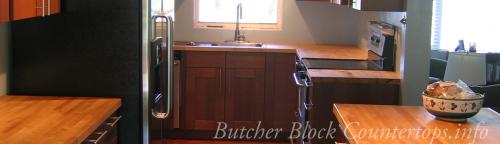 Butcher Block Countertops'