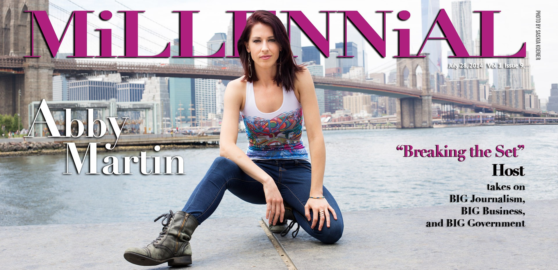Millennial Magazine and Abby Martin