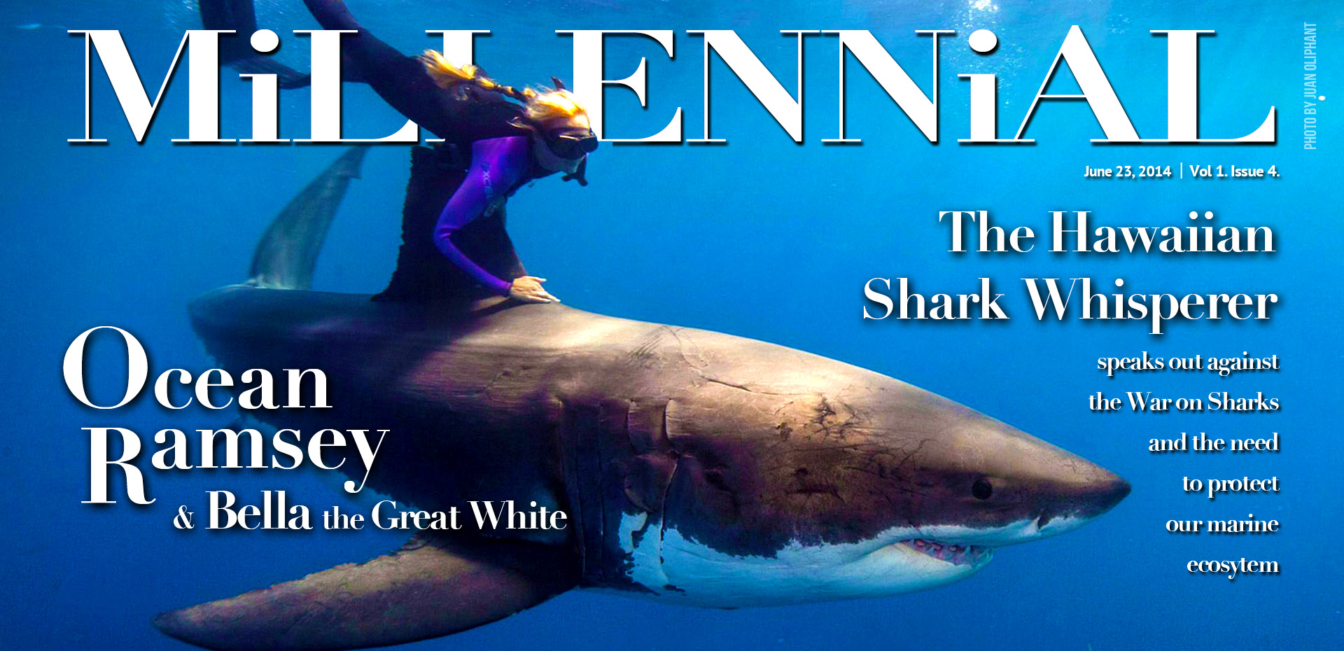 Millennial Magazine and Ocean Ramsey