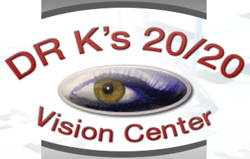 Dr. K's 20/20 Vision Center Logo