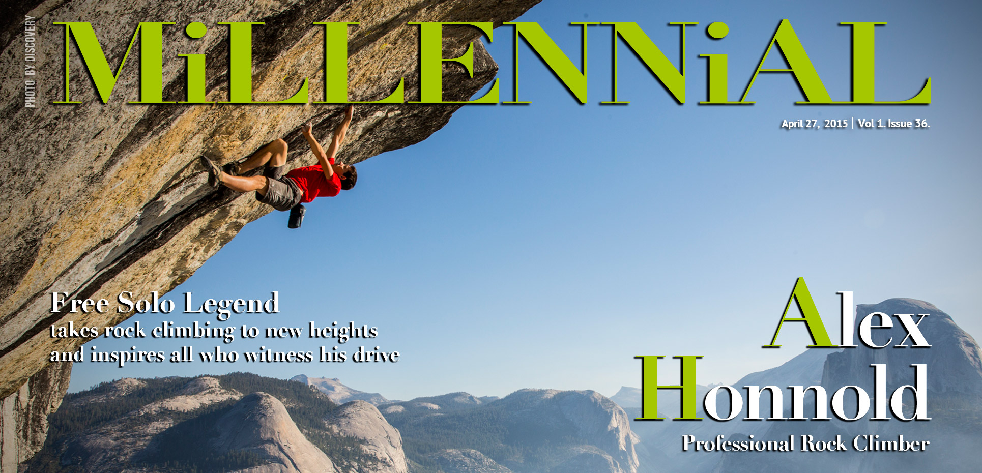 Millennial Magazine and Alex Honnold