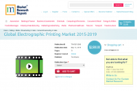 Global Electrographic Printing Market 2015-2019