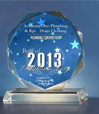 Plumbing Contractor of the year 2012 and 2013 for two year