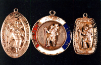 Sant Christopher Medals