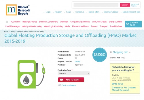 Global Floating Production Storage and Offloading Market'