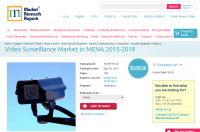 Video Surveillance Market in MENA 2015-2019