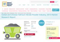 Global and Chinese Hafnium Nitride Powder Industry, 2015