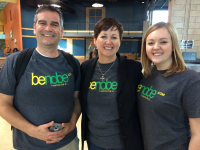 benobe, LLC - From left to right: Jeff, Julie, and Kelsey