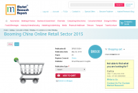 Booming China Online Retail Sector 2015