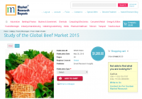 Study of the Global Beef Market 2015
