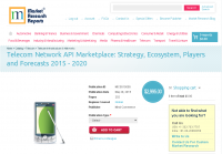Telecom Network API Marketplace