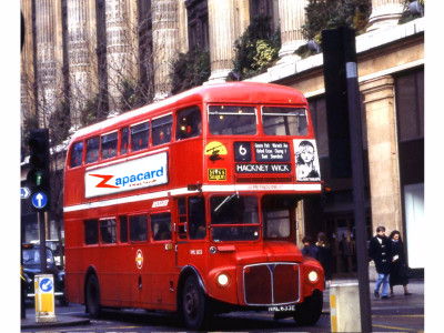 Zapacard Bus Advert