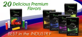 flavors of Premium Electronic Cigarette'