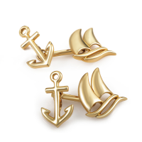 Nautical 18K Yellow Gold Cufflinks by Tiffany & Co.