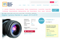 Digital Camera Market in Japan 2015-2019