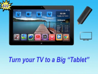 "HUBI STICK - Turn Your TV Into Big ""Tablet&quot"