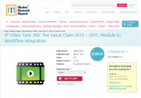 IP Video Tech 360: The Value Chain 2015 - 2017