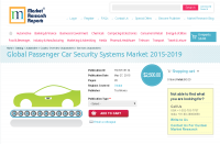 Global Passenger Car Security Systems Market 2015-2019
