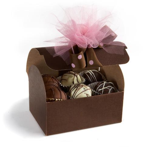Chocolate Truffle favors'