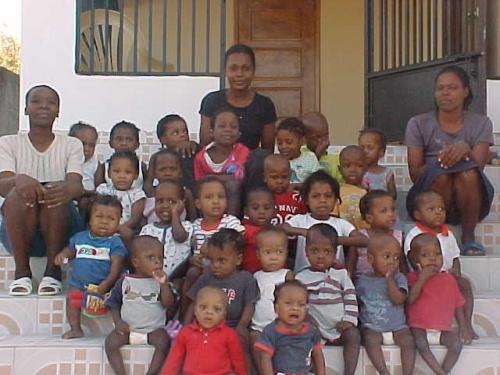Rev Kelita Leroy Haitian Orphanage'
