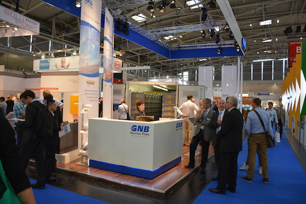 GNB at Intersolar