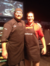 KRHA President & CEO Adam Mills and Chef Ben George'