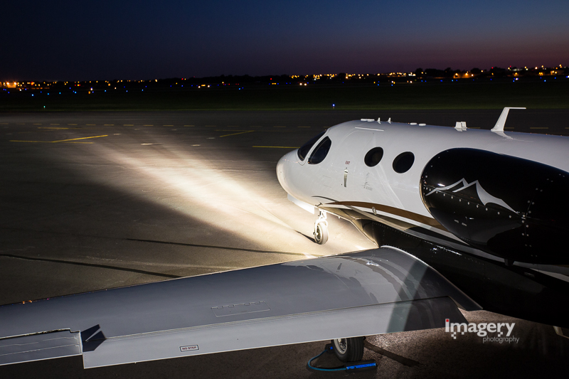 Citation Mustang with BoomBeam HID