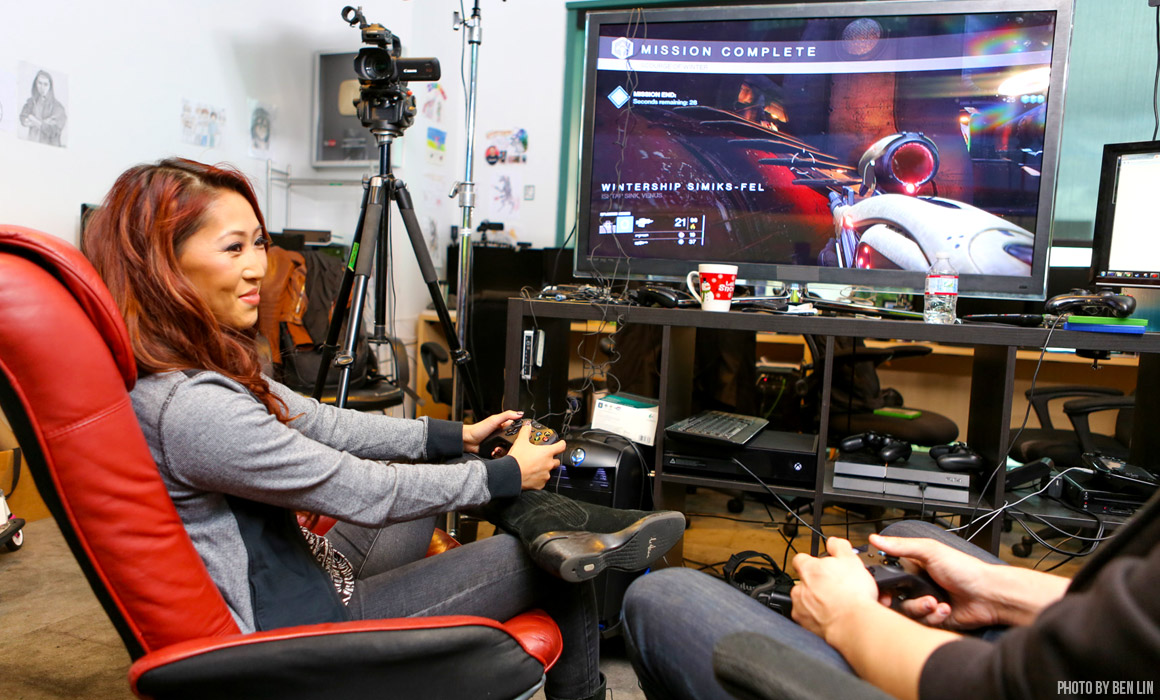 Mari Takahashi, Female Gamer