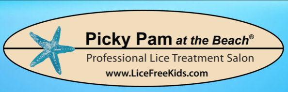 Picky Pam at the Beach Logo