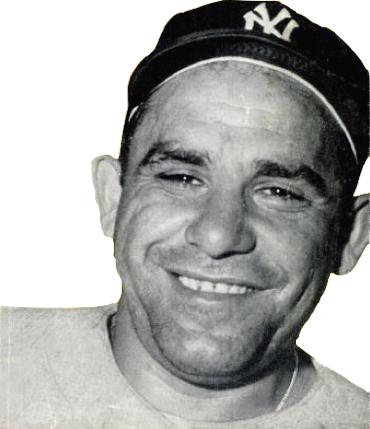 Yogi Berra, 1956, Baseball Digest'