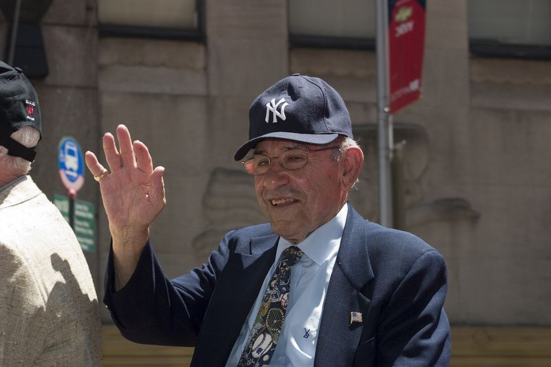 Yogi Berra, All Star Red Carpet Parade, 2009