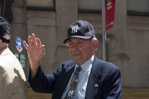 Yogi Berra, All Star Red Carpet Parade, 2009'