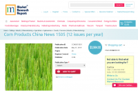 Corn Products China News 1505 (12 issues per year)