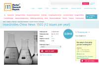 Insecticides China News 1505 (12 issues per year)