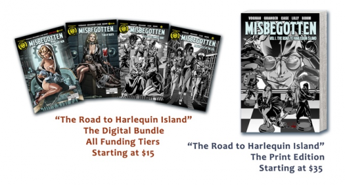 The Road To Harlequin Island'