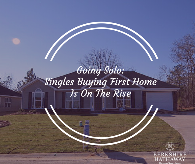 Single Homeowners on the Rise
