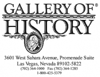 Gallery of History, Inc. Logo
