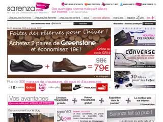 Sarenza good reduction of 10%'