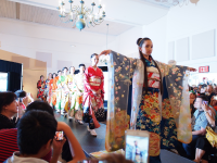 Kimono Fashion Show in Miami Beach