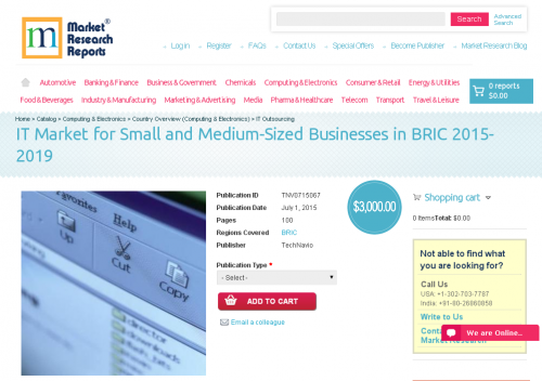 IT Market for Small and Medium-Sized Businesses in BRIC 2015'