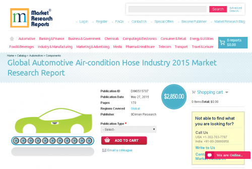 Global Automotive Air-condition Hose Industry 2015'