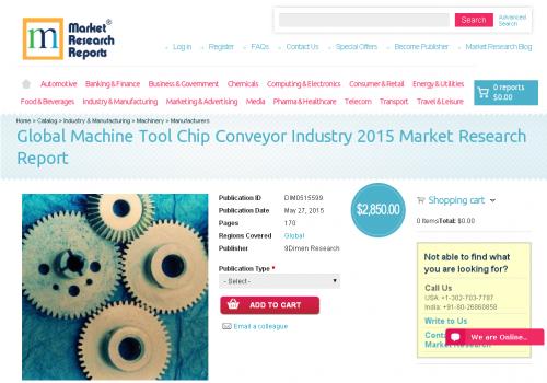 Global Machine Tool Chip Conveyor Industry 2015'